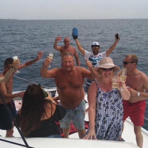 Catamaran in Paradise